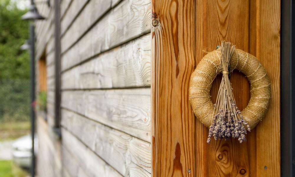 Dřevěná fasáda - horizontální