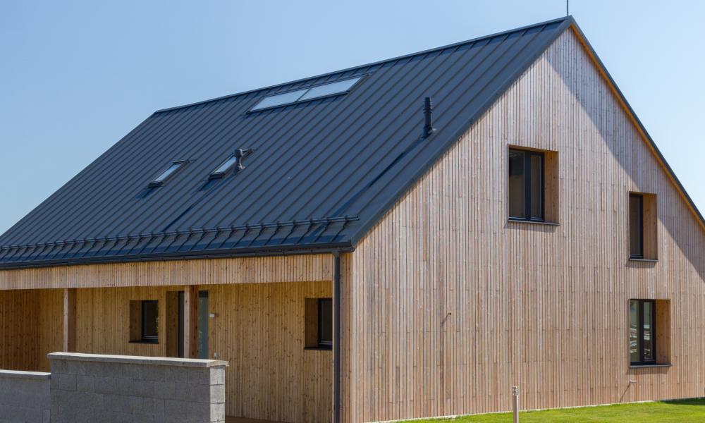 Dřevěná fasáda - VESPER HOMES