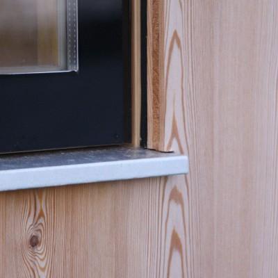 Dřevěná fasáda - desky
